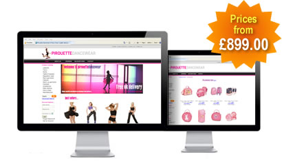 Ecommerce Websites starting from just £899.00